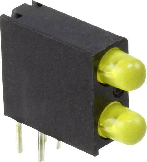 LED-Baustein Gelb (L x B x H) 14.06 x 13.33 x 4.32 mm Dialight 553-0233-200F