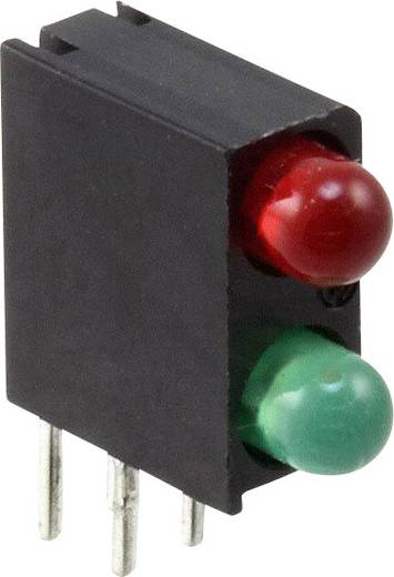 LED-Baustein Grün, Rot (L x B x H) 13.34 x 11 x 4.32 mm Dialight 553-0112-010F