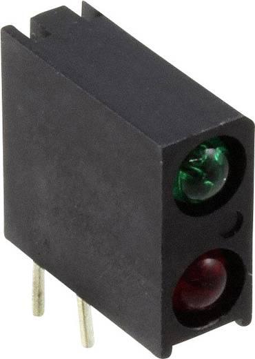 LED-Baustein Grün, Rot (L x B x H) 13.33 x 10.92 x 4.32 mm Dialight 553-2221-100F