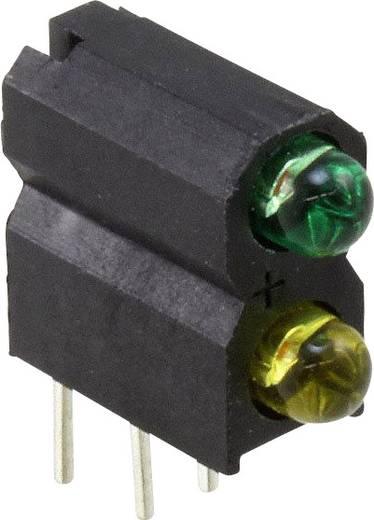 LED-Baustein Grün, Gelb (L x B x H) 13.33 x 10.91 x 4.95 mm Dialight 553-2223-300F