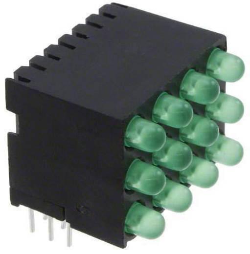 LED-Reihe Grün (L x B x H) 26.08 x 19.56 x 18.44 mm Dialight 564-0140-22-24F