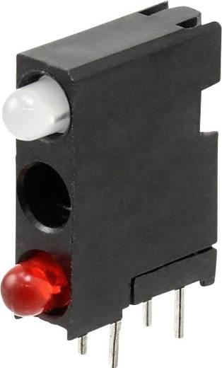LED-Baustein Rot, Grün, Rot (L x B x H) 18.29 x 14.32 x 4.32 mm Dialight 564-0700-804F