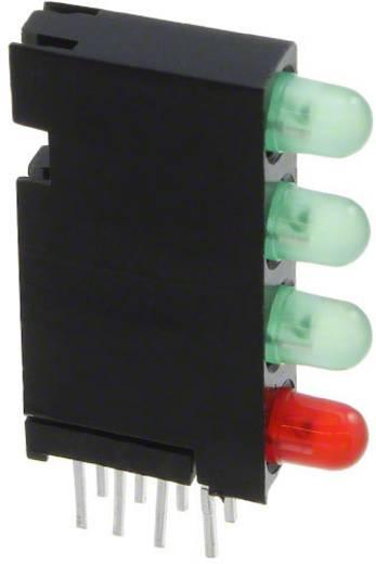 LED-Baustein Grün, Rot (L x B x H) 24 x 14.35 x 4.32 mm Dialight 568-0102-221F
