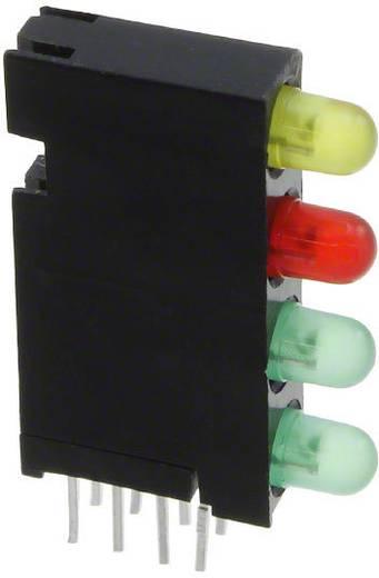 LED-Baustein Grün, Rot, Gelb (L x B x H) 24 x 14.35 x 4.32 mm Dialight 568-0103-122F