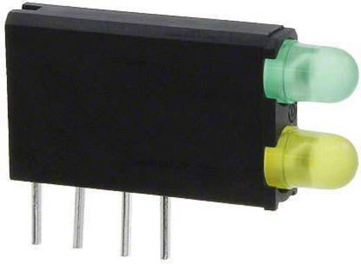 LED-Baustein Grün, Gelb (L x B x H) 18.54 x 12.57 x 3.3 mm Dialight 569-0212-300F