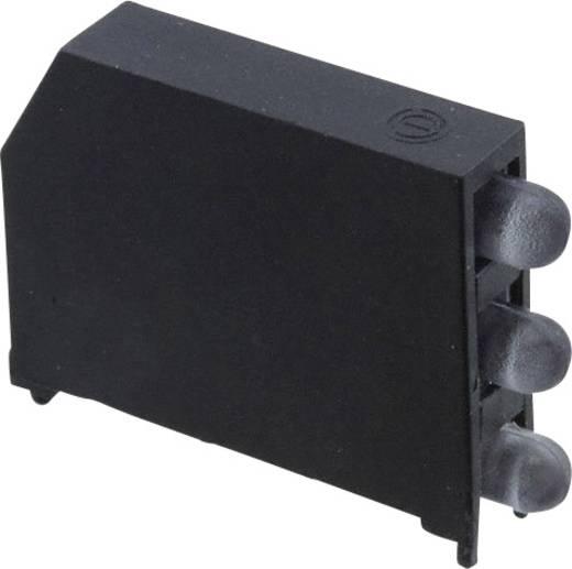 LED-Baustein Rot (L x B x H) 22.61 x 16.08 x 4.32 mm Dialight 5932-121-2100-2F
