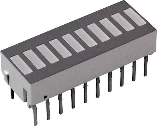LED-Bargraph Grün, Rot, Gelb (L x B x H) 25.4 x 10.16 x 9.14 mm Broadcom HDSP-4832