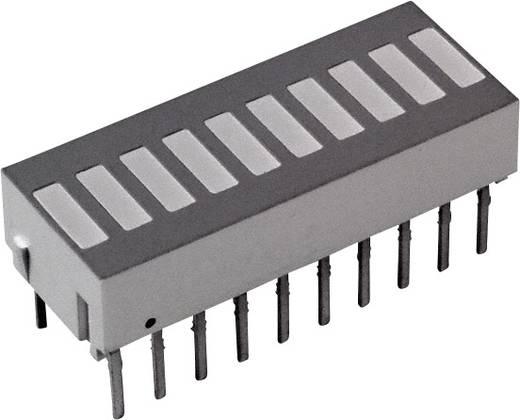 LED-Bargraph Grün, Rot, Gelb (L x B x H) 25.4 x 10.16 x 9.14 mm Broadcom HDSP-4836
