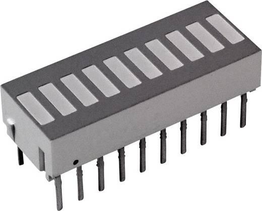 LED-Bargraph Rot (L x B x H) 25.4 x 10.16 x 9.14 mm Broadcom HDSP-4830