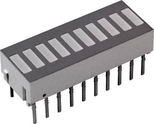 LED-Bargraph Rot (L x B x H) 25.4 x 10.16 x 9.14 mm Broadcom HLCP-J100