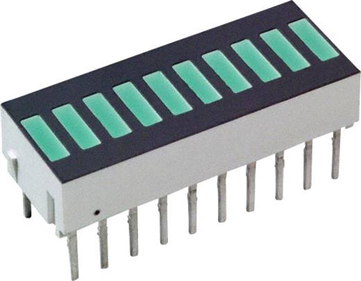 LED-Bargraph Grün (L x B x H) 25.4 x 10.16 x 9.14 mm Broadcom HDSP-4850