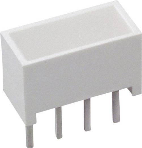 LED-Baustein Rot (L x B x H) 10.28 x 10.16 x 4.95 mm Broadcom HLMP-2300