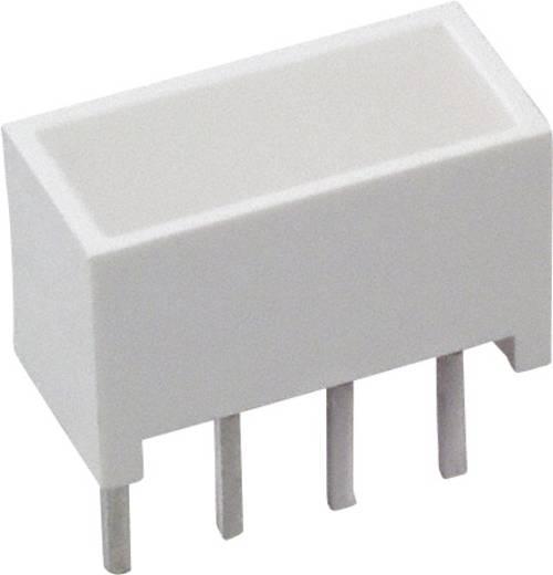 LED-Baustein Gelb (L x B x H) 10.28 x 10.16 x 4.95 mm Broadcom HLMP-2400
