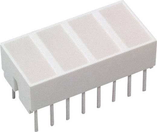 LED-Baustein Rot (L x B x H) 20.32 x 10.28 x 10.16 mm Broadcom HLMP-2620