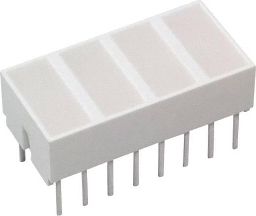 LED-Baustein Gelb (L x B x H) 20.32 x 10.28 x 10.16 mm Broadcom HLMP-2720