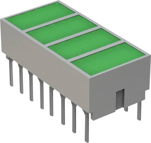 LED-Baustein Grün (L x B x H) 20.32 x 10.28 x 10.16 mm Broadcom HLMP-2820
