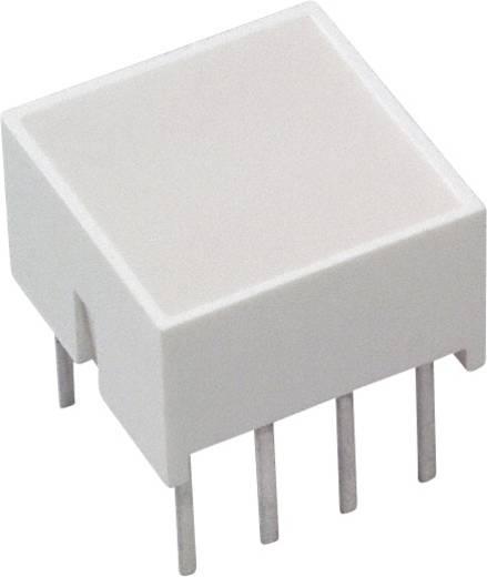 LED-Baustein Rot (L x B x H) 10.28 x 10.16 x 10.16 mm Broadcom HLMP-2655