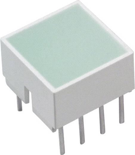 LED-Baustein Grün (L x B x H) 10.28 x 10.16 x 10.16 mm Broadcom HLMP-2855