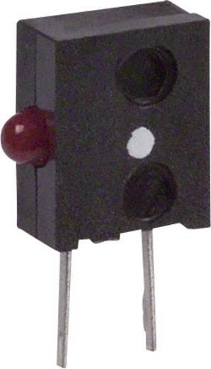 LED-Baustein Rot (L x B x H) 11.05 x 6.6 x 2.62 mm Broadcom HLMP-6620-F0010