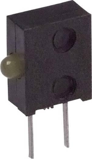 LED-Baustein Gelb (L x B x H) 11.05 x 6.6 x 2.62 mm Broadcom HLMP-6400-F0010