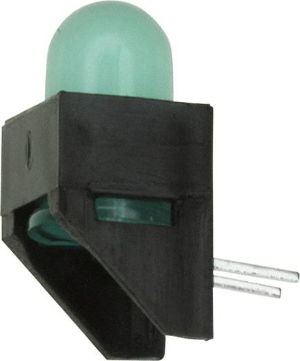 LED-Baustein Grün (L x B x H) 11.07 x 9.02 x 6.21 mm Broadcom HLMP-4740-A00B2