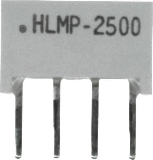 Flächen-LED Grün (L x B x H) 10.28 x 10.16 x 4.95 mm Broadcom HLMP-2500-FG000