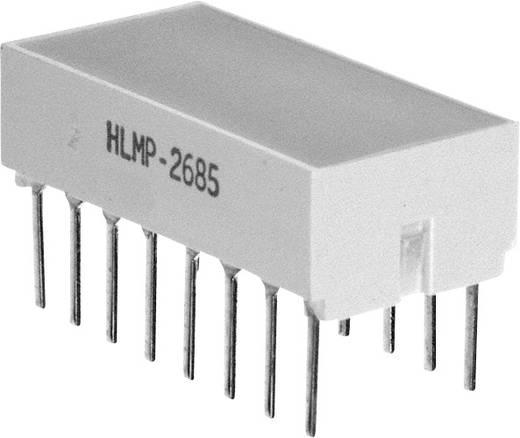 Flächen-LED Rot (L x B x H) 10.28 x 10.16 x 10.16 mm Broadcom HLMP-2685-EF000