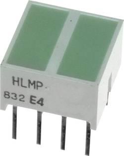 Elément LED Broadcom HLMP-2800 vert (L x l x h) 10.28 x 10.16 x 10.16 mm 1 pc(s)