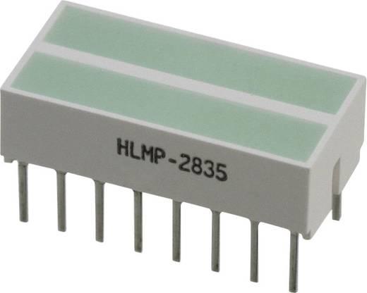 LED-Baustein Grün (L x B x H) 20.32 x 10.28 x 10.16 mm Broadcom HLMP-2835