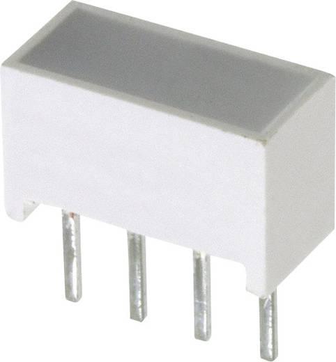 Flächen-LED Gelb (L x B x H) 10.28 x 10.16 x 4.95 mm Broadcom HLMP-2400-EF000