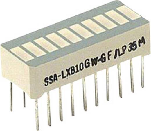 LED-Bargraph Grün (L x B x H) 25.4 x 13.8 x 10.16 mm LUMEX SSA-LXB10GW-GF/LP