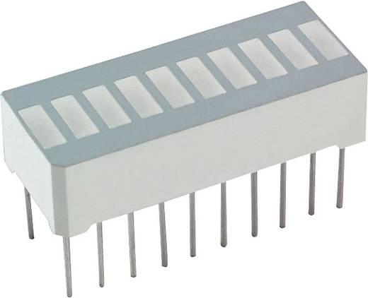 LED-Bargraph Rot (L x B x H) 25.4 x 13.8 x 10.16 mm LUMEX SSA-LXB10IW-GF/LP