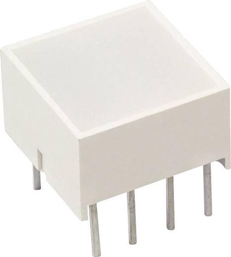 Flächen-LED Rot, Gelb (L x B x H) 10.1 x 9.94 x 9.94 mm LUMEX SSB-LX2950IYW