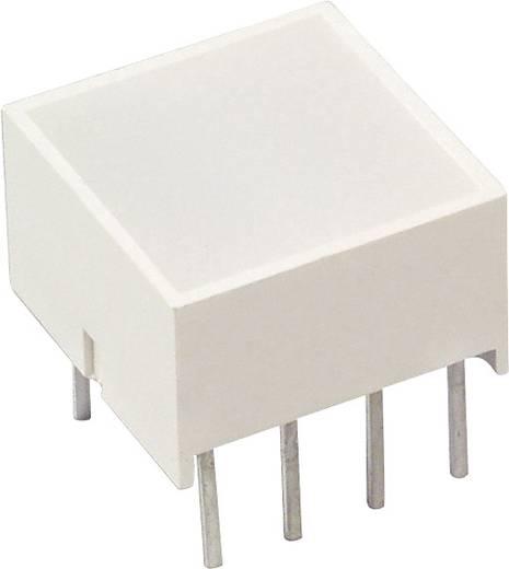 Flächen-LED Rot, Grün (L x B x H) 10.1 x 9.94 x 9.94 mm LUMEX SSB-LX2965IGW