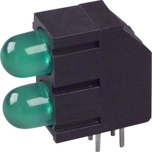 LED-Baustein Grün (L x B x H) 15.81 x 15.8 x 6.6 mm LUMEX SSF-LXHM250GGD