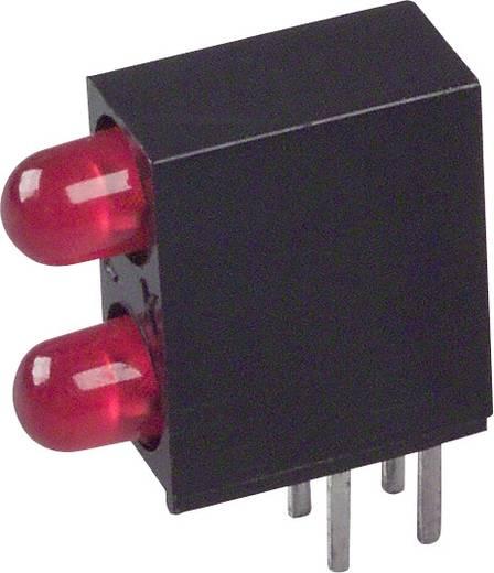 LED-Baustein Rot (L x B x H) 12.83 x 10.77 x 4.32 mm LUMEX SSF-LXH240IID
