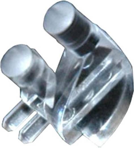 Hohllichtleiter Dialight 515-1061F Starr Kartenbefestigung, Presspassung