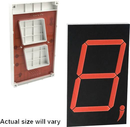 Lite-On 7-Segment-Anzeige Rot 76.2 mm 12 V Ziffernanzahl: 1 LTS-30801HRB