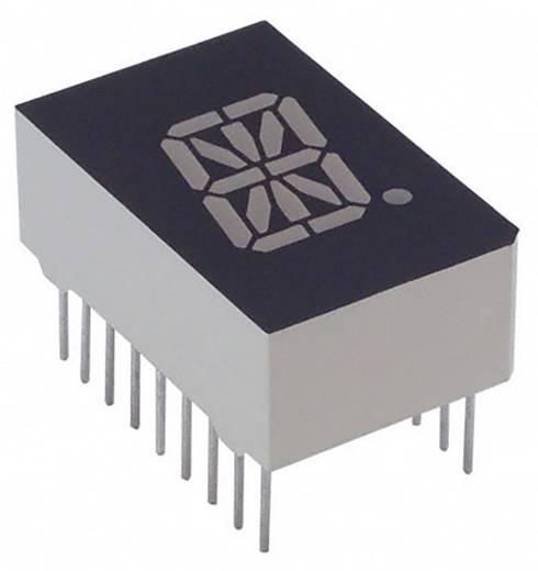 Alphanumerische Segment-Anzeige Grün 12.7 mm 2.1 V Ziffernanzahl: 1 Lite-On LTP-587G