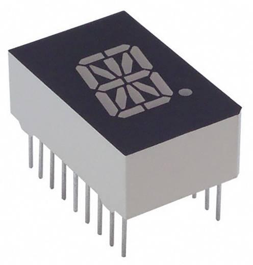 Alphanumerische Segment-Anzeige Gelb 12.7 mm 2.1 V Ziffernanzahl: 1 Lite-On LTP-587Y