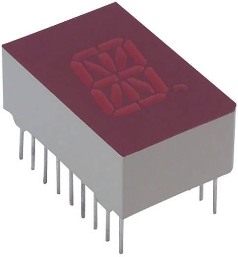 Alphanumerische Segment-Anzeige Rot 12.7 mm 2 V Ziffernanzahl: 1 Lite-On LTP-587HR