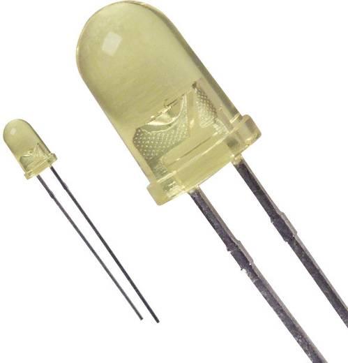 LED bedrahtet Gelb Rund 5 mm 90 mcd 16 ° 20 mA 2.1 V Lite-On LTL-4254