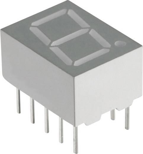 7-Segment-Anzeige Blau 10 mm 3.8 V Ziffernanzahl: 1 Lite-On LTS-4801B