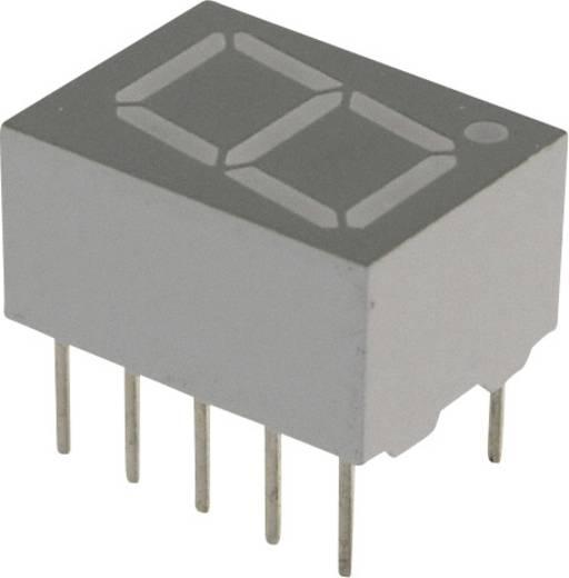 7-Segment-Anzeige Blau 10 mm 3.8 V Ziffernanzahl: 1 Lite-On LTS-4301B