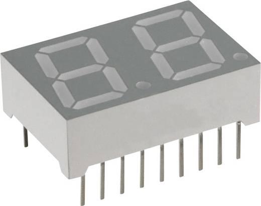 7-Segment-Anzeige Blau 14.22 mm 3.8 V Ziffernanzahl: 2 Lite-On LTD-5523AB