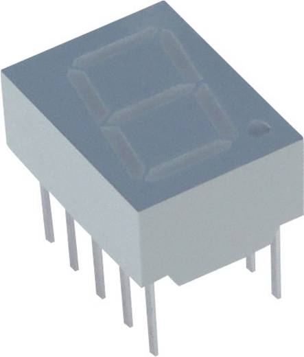 Lite-On 7-Segment-Anzeige Gelb 10 mm 2.05 V Ziffernanzahl: 1 LTS-4802BJS-H1