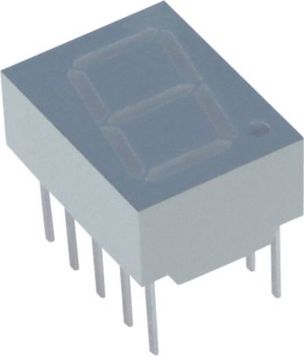 7-Segment-Anzeige Rot 10 mm 2 V Ziffernanzahl: 1 Lite-On LTS-4802BJR-H1