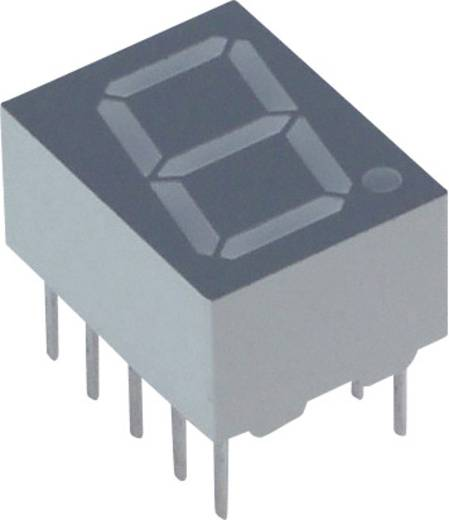 7-Segment-Anzeige Gelb 10 mm 2.05 V Ziffernanzahl: 1 Lite-On LTS-4301JS