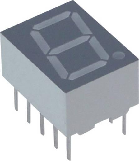 7-Segment-Anzeige Orange-Gelb 10 mm 2.05 V Ziffernanzahl: 1 Lite-On LTS-4301JF
