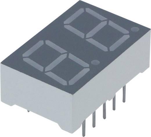 7-Segment-Anzeige Rot 10 mm 2 V Ziffernanzahl: 2 Lite-On LTD-4608JR
